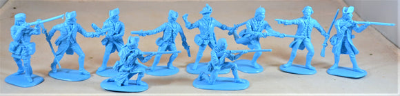 Accurate American Revolution Colonial US Militia Set #2 1776 Light Blue