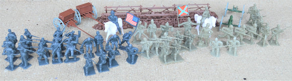 Americana Civil War Union Confederate Large Set