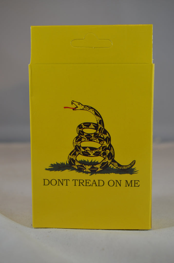 "American Revolution ""Don't Tread on Me"" Playing Cards"