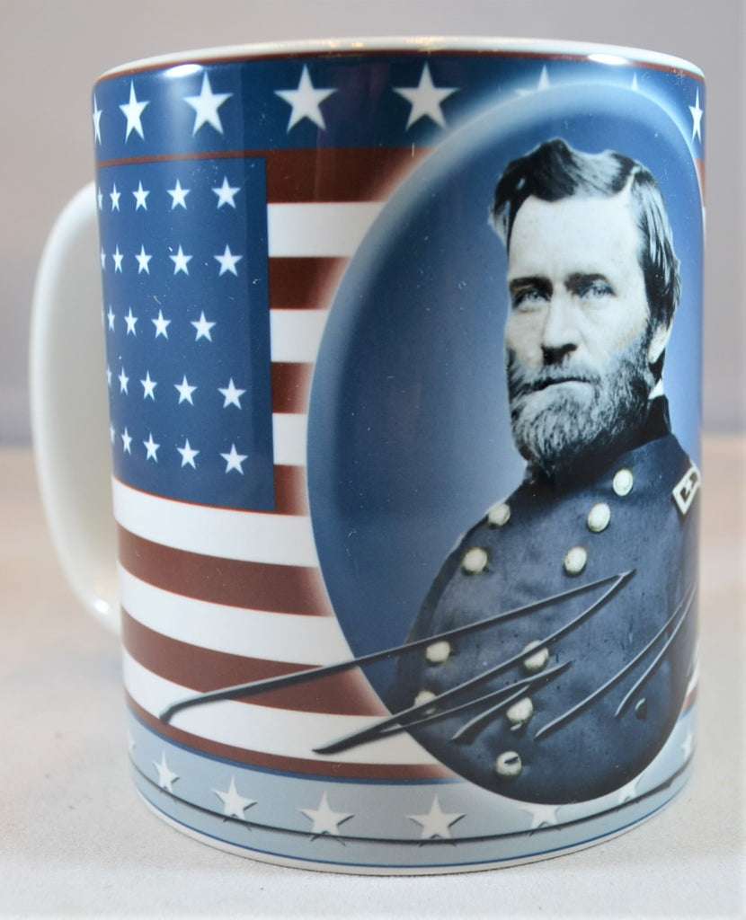 Americana Civil War Union General Ulysses S. Grant Coffee Cup