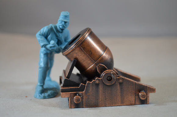 Americana Civil War Mortar Die-cast Pencil Sharpener