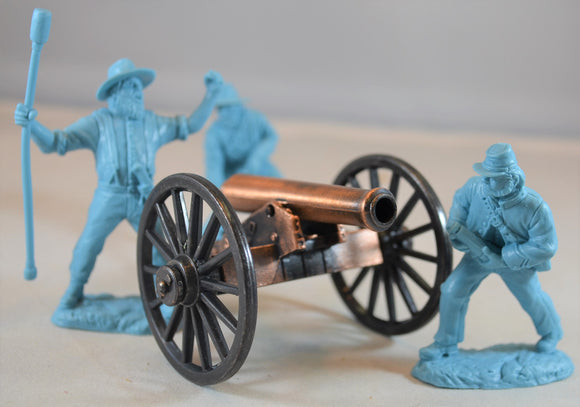 Americana Civil War Napoleon Cannon with Bronze Barrel