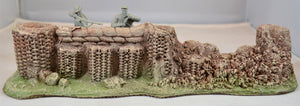 Atherton Scenic Painted Civil War Breached Firing Stand Defensive Position 9503D