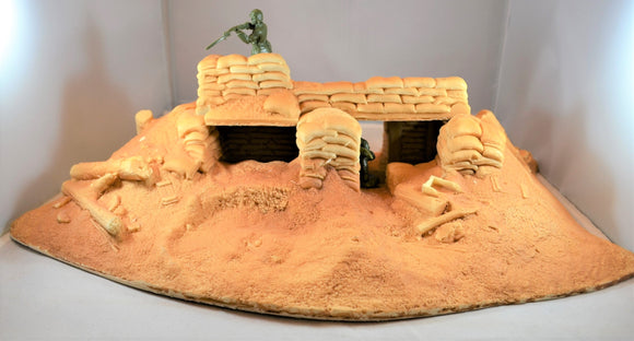 Atherton Scenics Unpainted WWII Japanese Bunker 9801