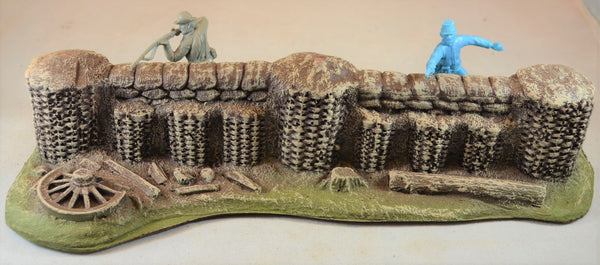 Atherton Scenics Painted Civil War Firing Stand Defensive Position 9503C