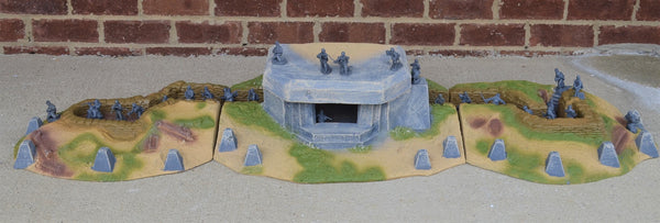 Atherton Scenics Painted D-Day German Beach Bunker
