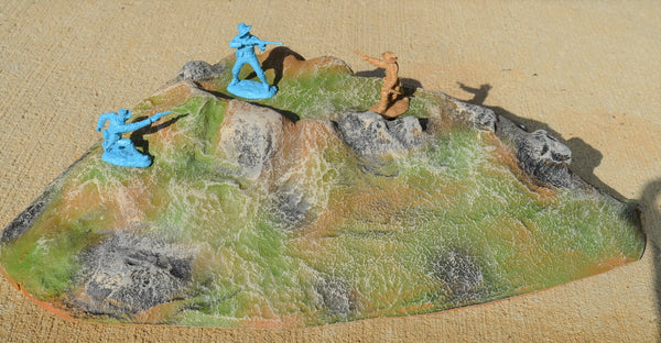 Atherton Scenics Painted Hill Terrain Piece 9929