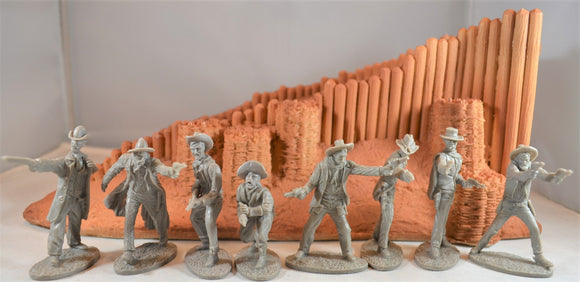 Austin Miniatures - Gunfighters/Cowboys Set #1 - Gray