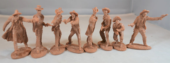 Austin Miniatures - Gunfighters/Cowboys Set #1 - Tan