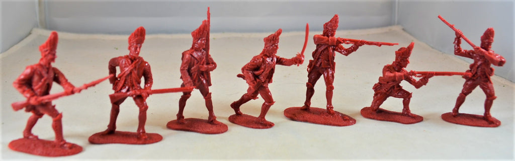 LOD Barzso British French and Indian War Infantry Red