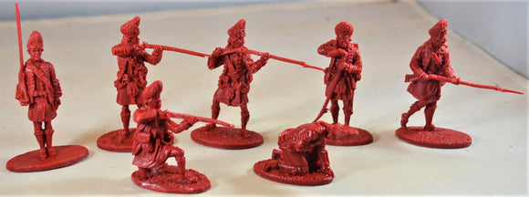 LOD Barzso Bushy Run Playset British Grenadiers