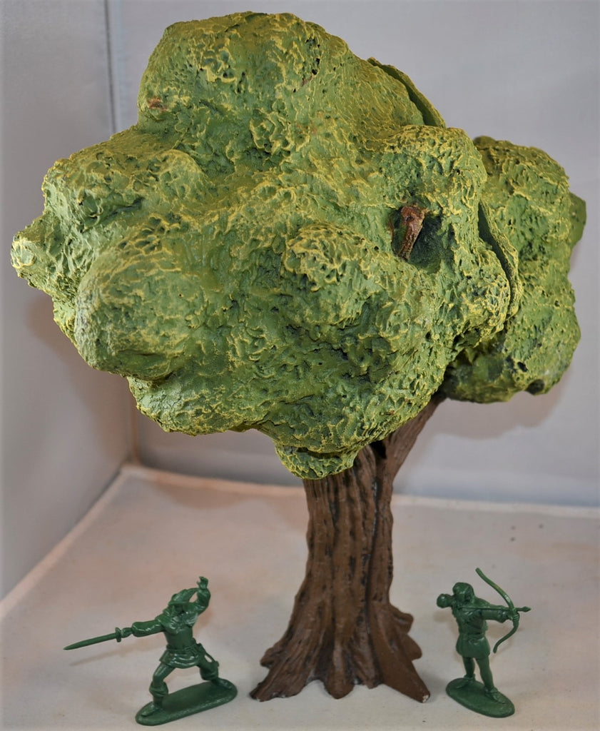 LOD Barzso Hand Painted Large Medieval Oak Tree Sherwood Forest Diorama