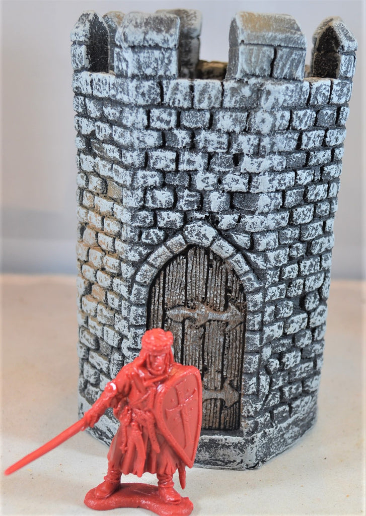 LOD Barzso Hand Painted Medieval Castle Small Tower Turrett Duke's Stronghold