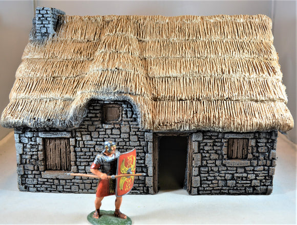 LOD Barzso Large Medieval Stone Cottage House