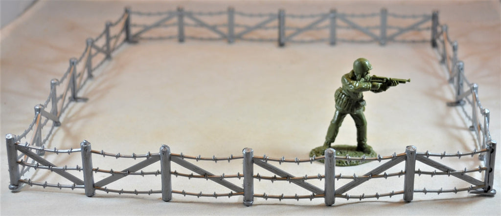Marx WWII D-Day Barbed Wire Fence Set