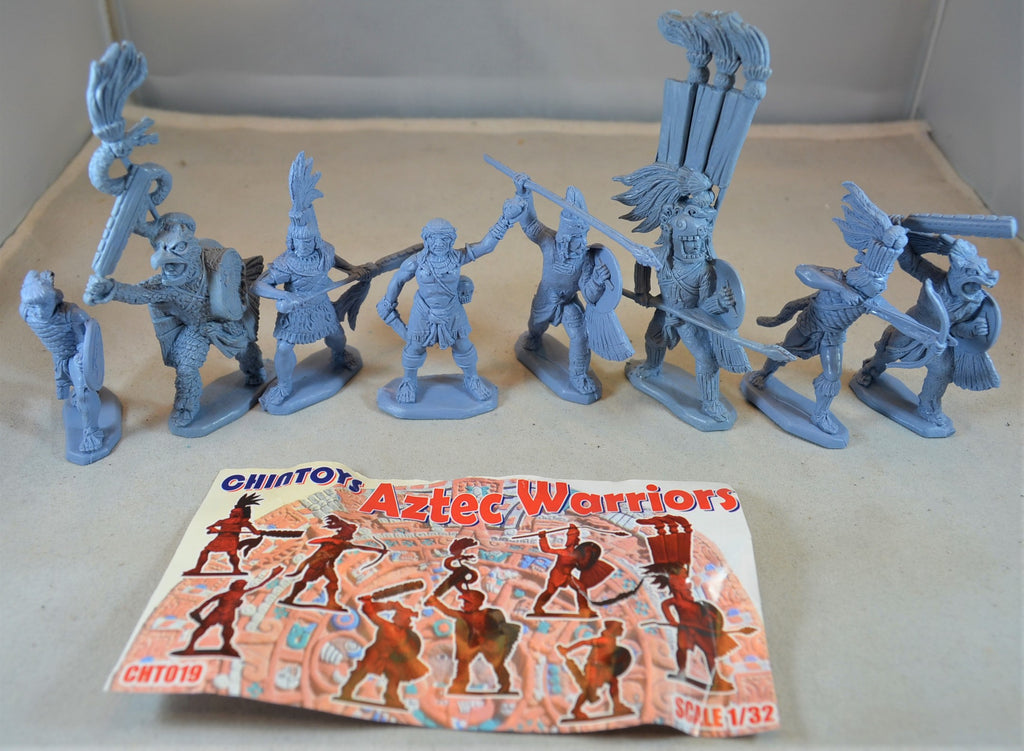 Chintoys Aztec Warriors Set 19 Light Blue