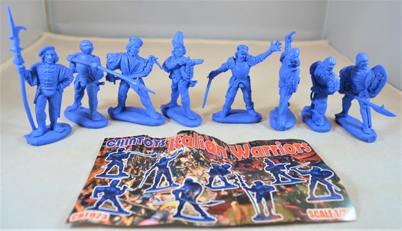 Chintoys Italian Warriors Medium Blue