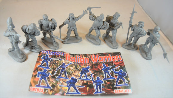 Chintoys Italian Warriors Gray