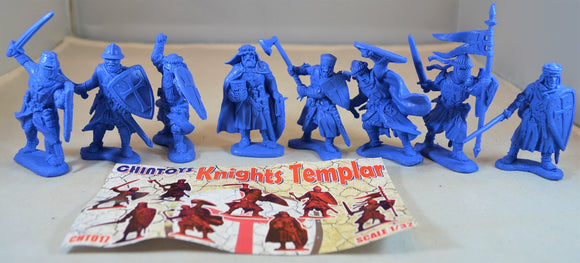 Chintoys Knights Templar Medieval Crusaders Medium Blue