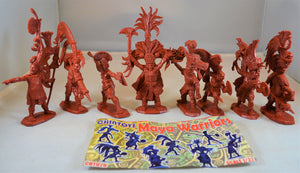 Chintoys Mayan Warriors Foot Soldiers