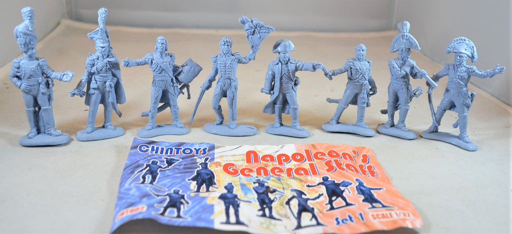Chintoys French Napoleon's Generals Staff Set 1