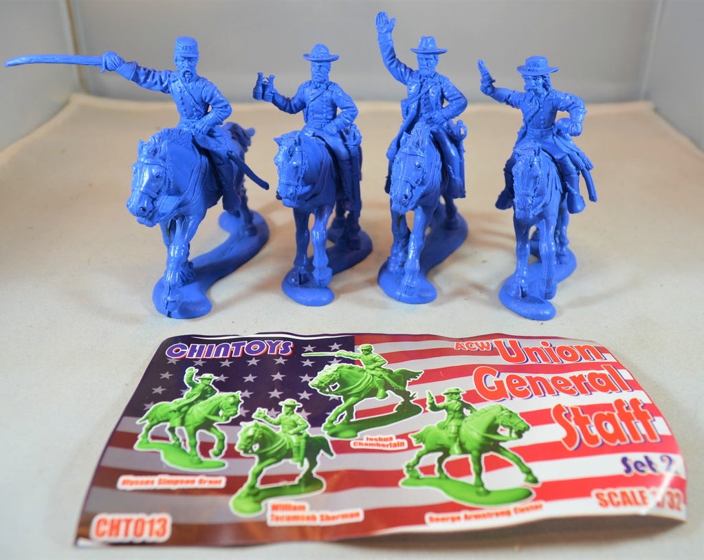 Chintoys Civil War Union Generals Staff Set 2
