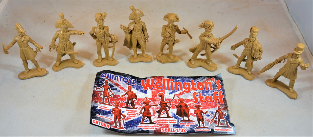 Chintoys British Wellington's Staff Napoleonic Wars