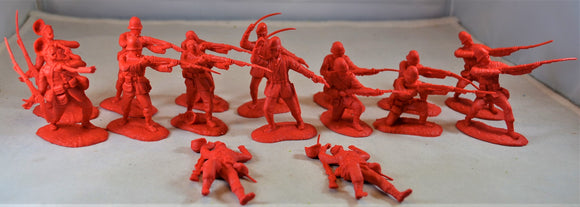 Conte British 24th Foot Infantry Zulu Wars Set 2 Red