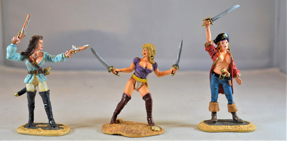 Conte Painted Pirate Bucaneer Women Wench Set