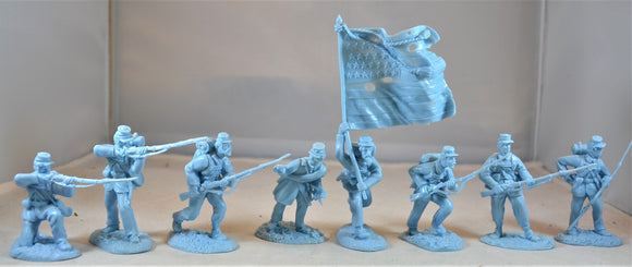 Conte Civil War Union Infantry Set 1 Light Blue