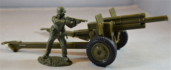 Classic Toy Soldiers World War II US 105MM Cannon