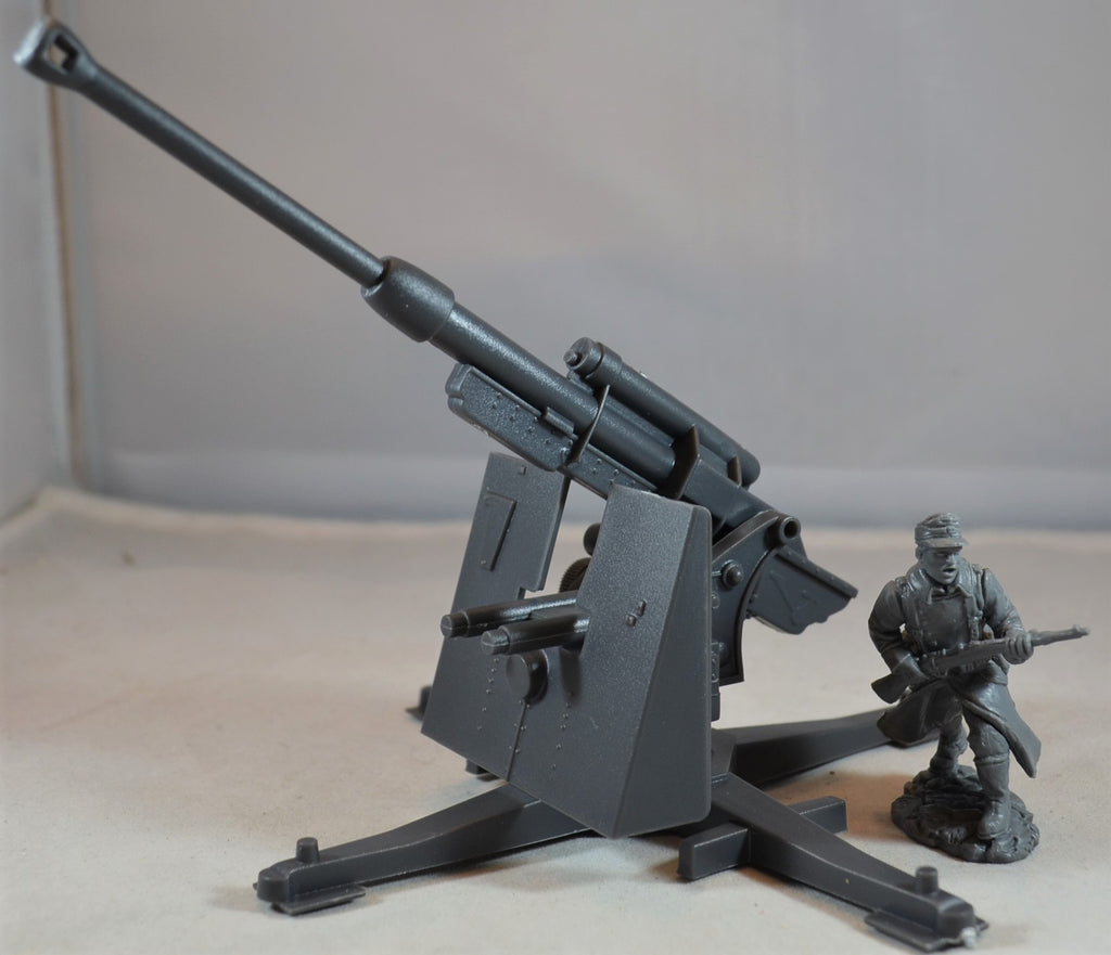Classic Toy Soldiers World War II German 88MM with Elevating Barrel