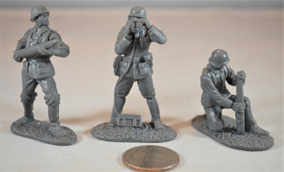 Classic Toy Soldiers World War II German Artillery Crew