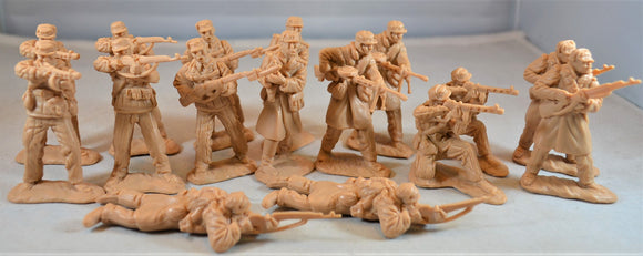 Classic Toy Soldiers Korean War Communist Army Infantry Set 2