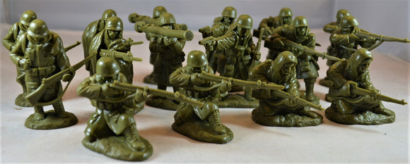 Classic Toy Soldiers Korean War US Marines in Winter Coats