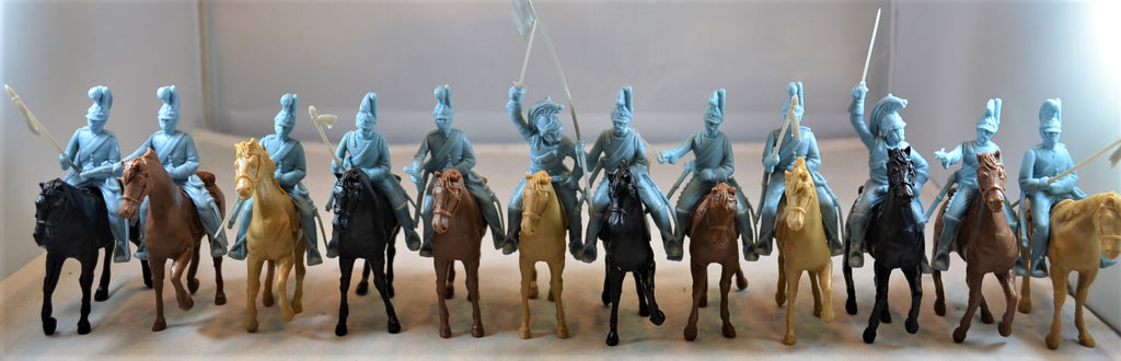 Classic Toy Soldiers Alamo Mexican Helmeted Cavalry