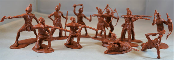 Classic Toy Soldiers Mohawk Indians