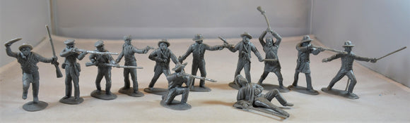 Classic Toy Soldiers Alamo Texans Gray