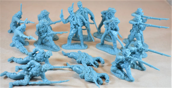 Classic Toy Soldiers Civil War Union Infantry Light Blue