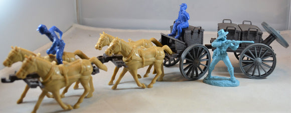 Classic Toy Soldiers Civil War Limber and Caisson
