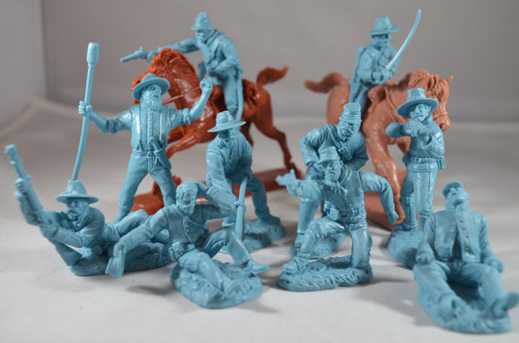 TSSD Union Artillery Cavalry Wounded Set #12A Light Blue