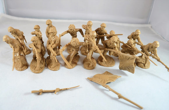 TSSD WWII Japanese Infantry Soldiers Set #8