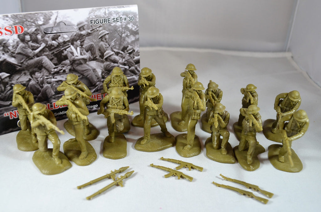TSSD Vietnam War NVA North Vietnamese Army Soldiers Set #30