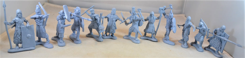Engineer Basevich Ancient Sumerian Hittites Warriors Blue
