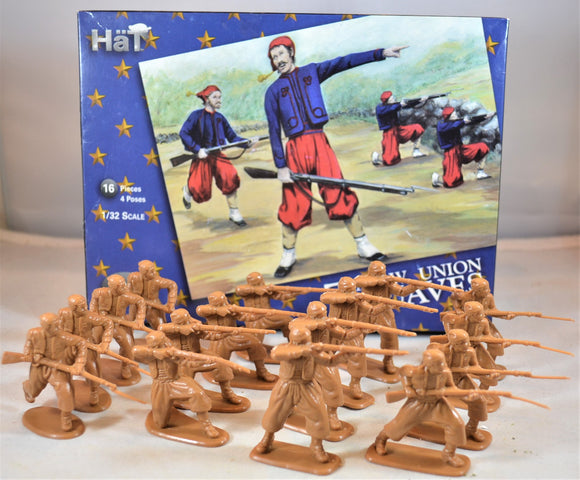 HaT Civil War Union Zouaves Set 1