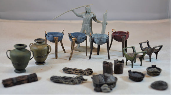 LOD Bronze Age Painted Accessories