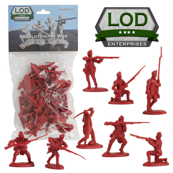 LOD British Light Infantry Red