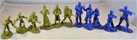 LOD  Another Plan from Outer Space Heroes and Green Alien Set