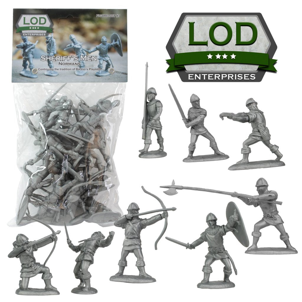 LOD Barzso Sheriff of Nottingham Norman Soldiers