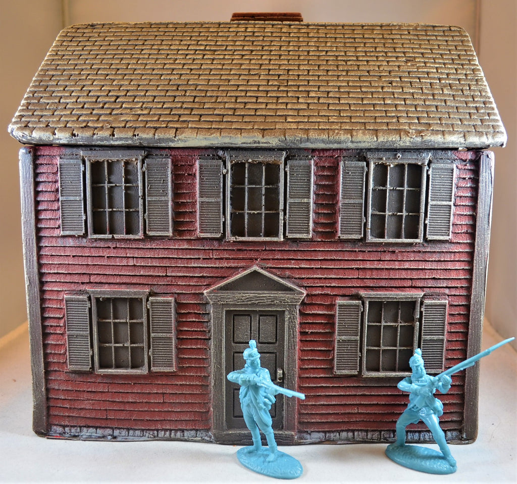 LOD Barzso American Revolution Two Story Colonial House Red